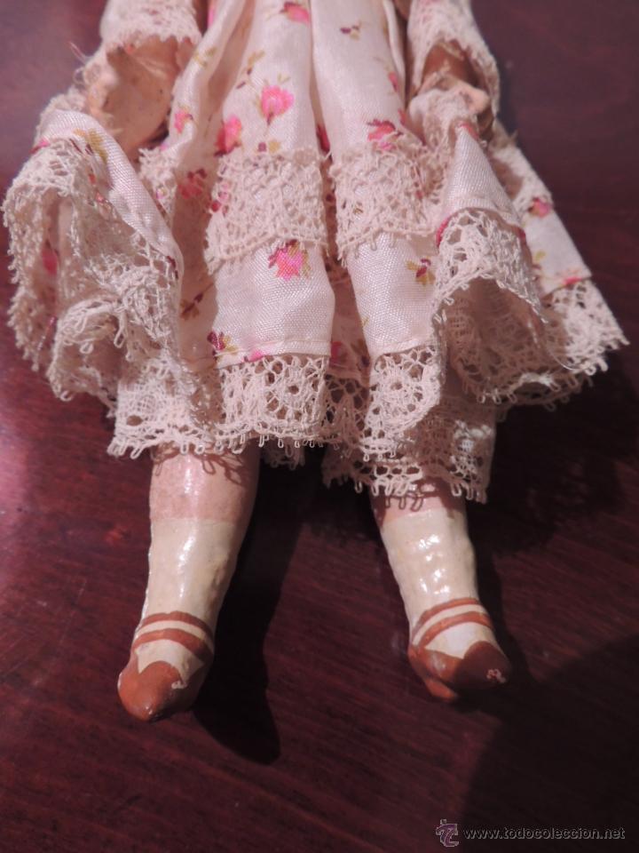 Muñecas Porcelana: IMPORTANTE MUÑECA DE PORCELANA O BISCUIT CON CUERPO DE PAPIER MACHE - Foto 4 - 47513822
