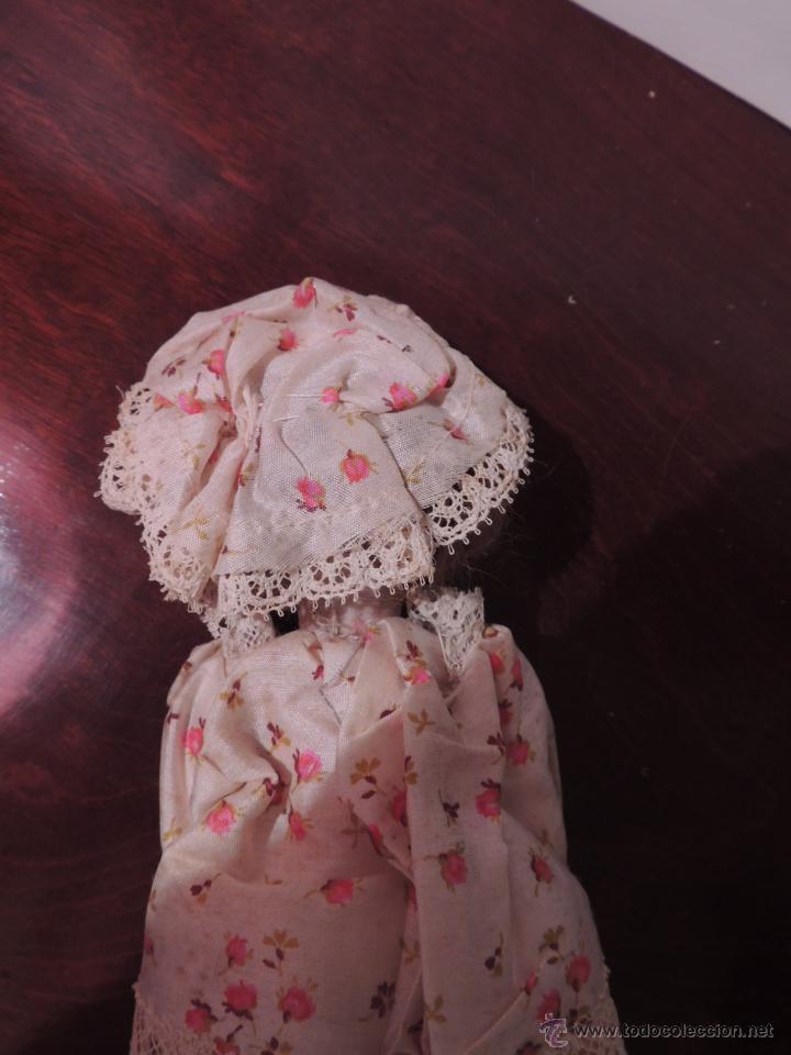 Muñecas Porcelana: IMPORTANTE MUÑECA DE PORCELANA O BISCUIT CON CUERPO DE PAPIER MACHE - Foto 5 - 47513822