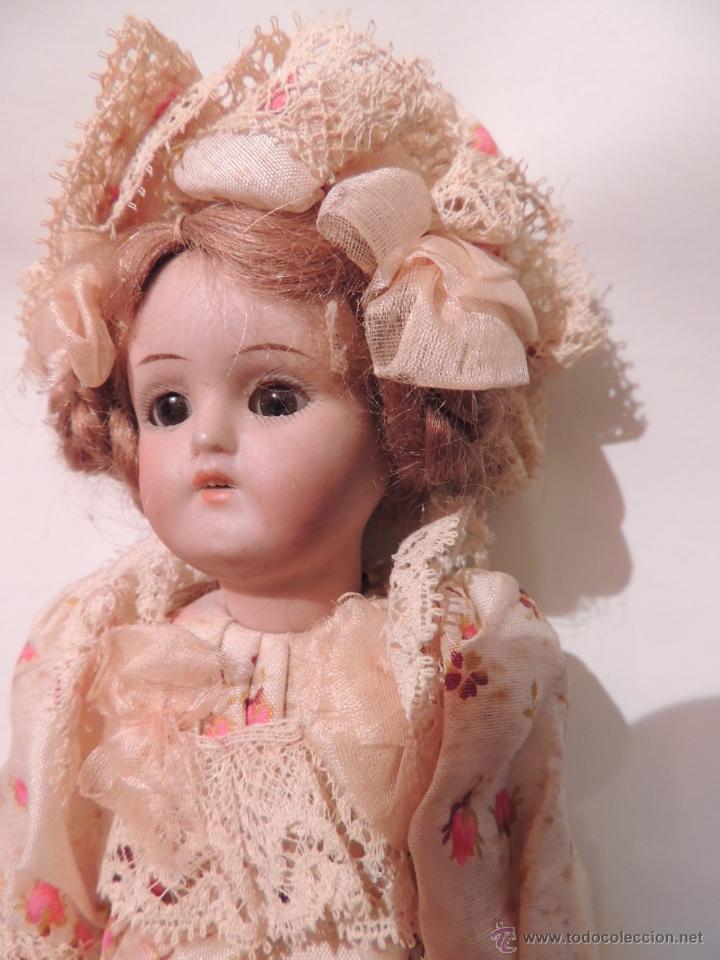 Muñecas Porcelana: IMPORTANTE MUÑECA DE PORCELANA O BISCUIT CON CUERPO DE PAPIER MACHE - Foto 8 - 47513822