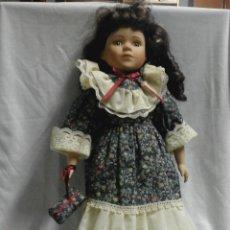 Muñecas Porcelana: MUÑECA DE PORCELANA COLECCION PROMENADE - CHARLOTTE-A - NR.SERIE 7006795. Lote 47895037