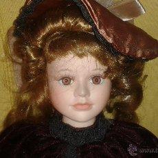 Muñecas Porcelana: MUÑECA DE PORCELANA 44 CMS. Lote 48208504