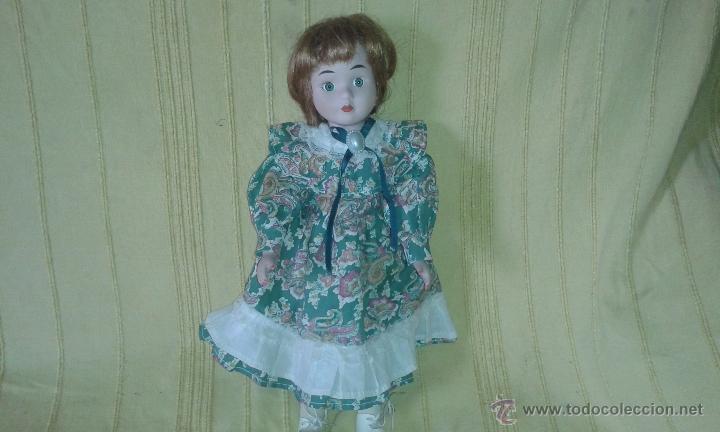 Muñecas Porcelana: MUÑECA DE PORCELANA *C 39 cms - Foto 2 - 48208885