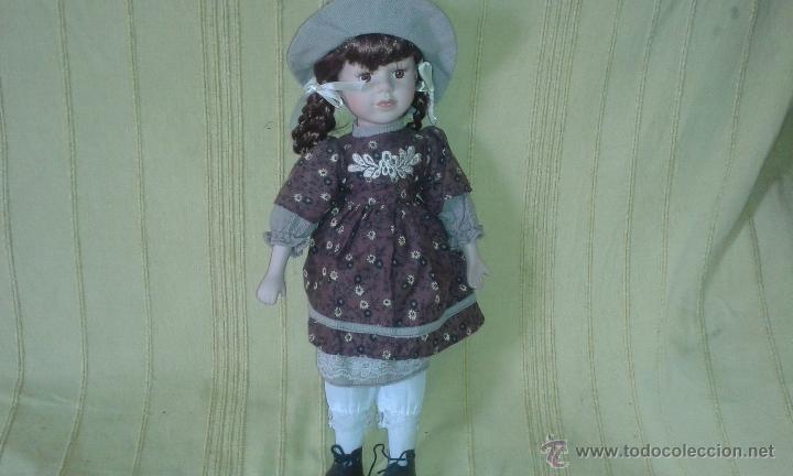 Muñecas Porcelana: MUÑECA DE PORCELANA *D 39 cms - Foto 2 - 48208955