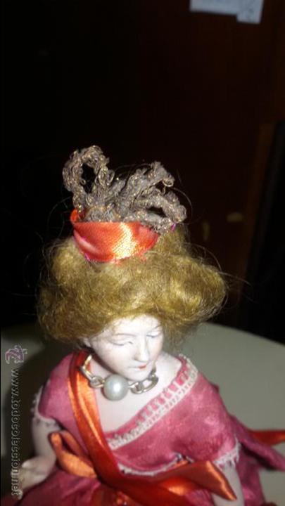Muñecas Porcelana: MUÑECA DE BISCUIT DE PORCELANA ANTIGUA CON CUERPO TAMBIEN DE CERAMICA - Foto 5 - 48303293
