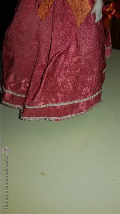 Muñecas Porcelana: MUÑECA DE BISCUIT DE PORCELANA ANTIGUA CON CUERPO TAMBIEN DE CERAMICA - Foto 7 - 48303293