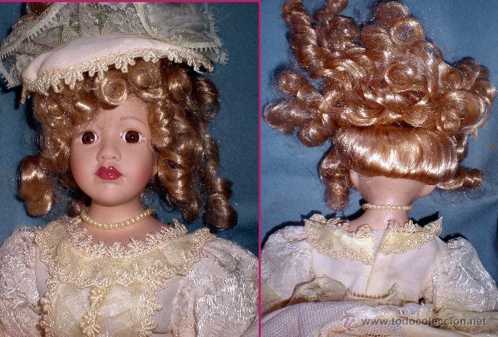 Muñecas Porcelana: Cabeza con Anverso y reverso - Foto 3 - 48324009