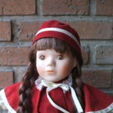Muñecas Porcelana: MUÑECA DE PORCELANA DE CLASSIQUE COLLECTION LAURA NUMERADA. Lote 48405429
