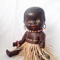Muñecas Porcelana: MUÑECO NEGRITO ANTIGUO. Lote 48757413
