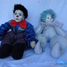 Muñecas Porcelana: PAYASOS CABEZA DE PORCELANA AÑOS 80. Lote 48841035