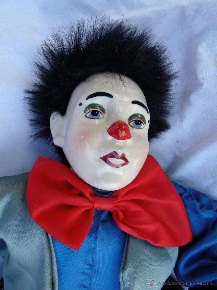 Muñecas Porcelana: PAYASOS CABEZA DE PORCELANA AÑOS 80 - Foto 2 - 48841035