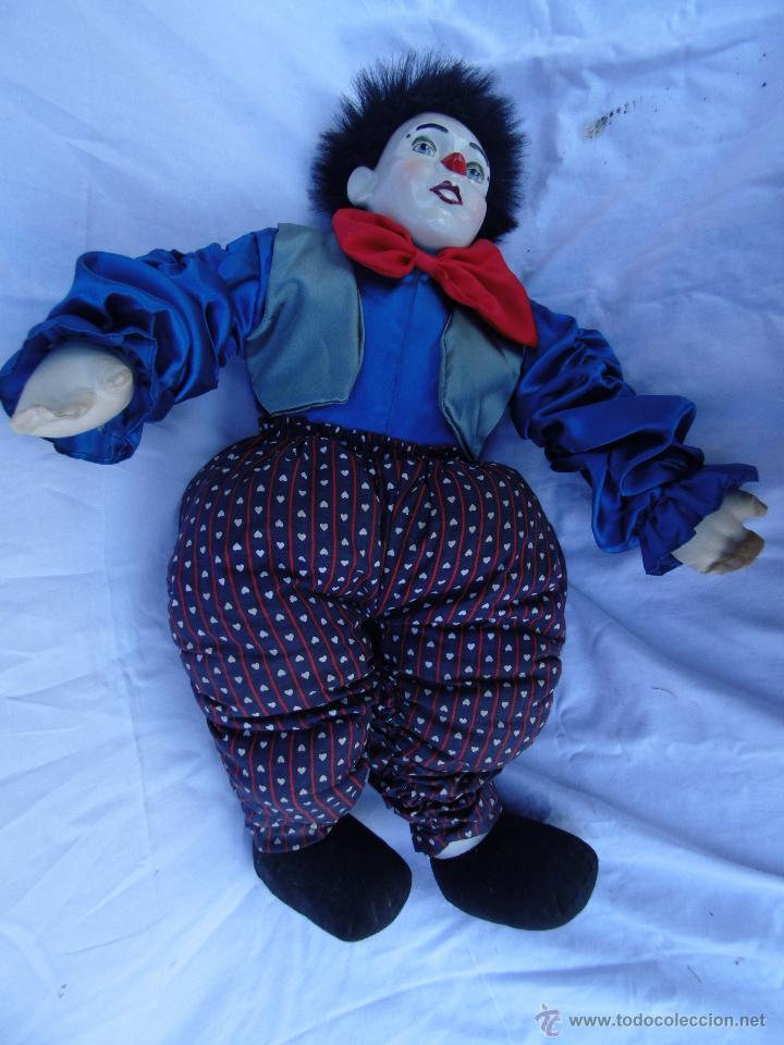 Muñecas Porcelana: PAYASOS CABEZA DE PORCELANA AÑOS 80 - Foto 3 - 48841035