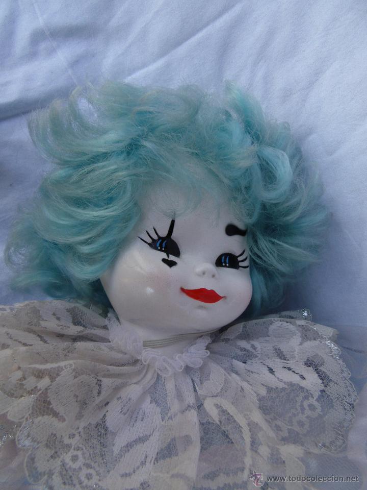 Muñecas Porcelana: PAYASOS CABEZA DE PORCELANA AÑOS 80 - Foto 4 - 48841035