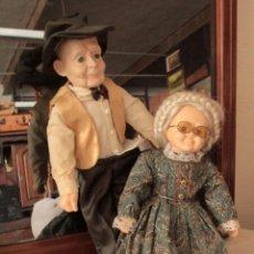 Muñecas Porcelana: BONITA PAREJA DE ANCIANOS, EN PORCELANA.. Lote 48842540