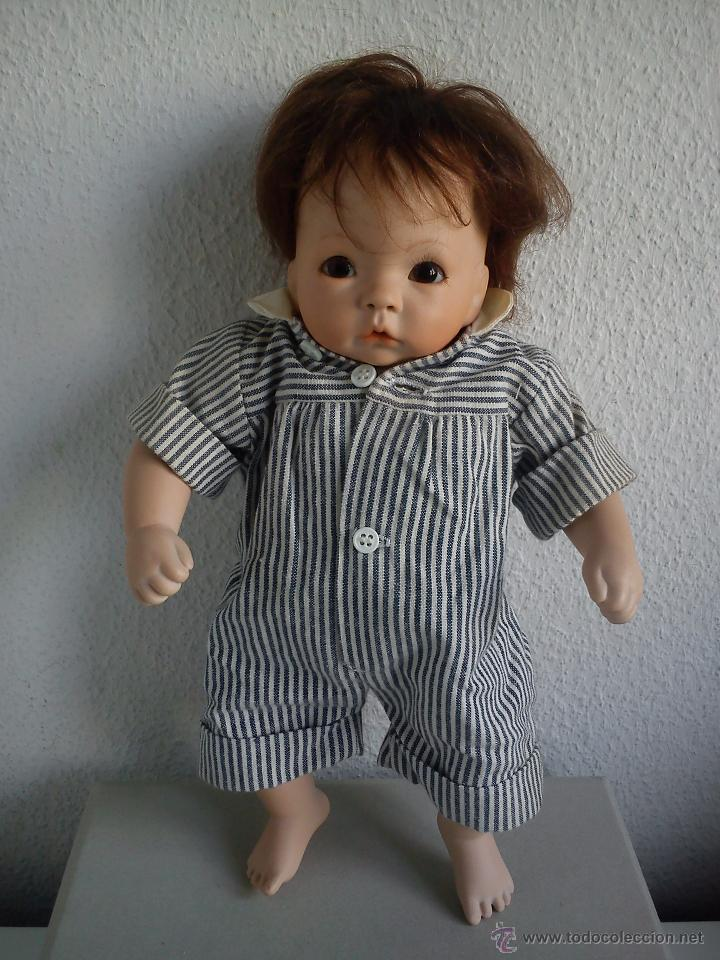 Muñecas Porcelana: MONECA DE COLECION HECHA PORCELANA TECIDO Y ARENA SELADA THE ULTIMATE COLECION M.S.LUDITE 1993 - Foto 5 - 49652581
