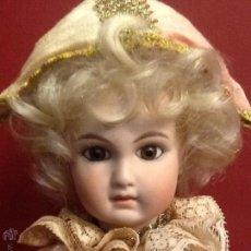 Muñecas Porcelana: MUÑECA ARLEQUÍN - AUTÓMATA MUSICAL / PORCELANA / AÑO 1.970 /. Lote 49856683