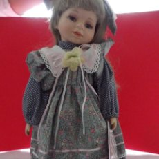 Muñecas Porcelana: MUÑECA VANESSA PORCELANA PINTADA A MANO VANESSA RICARDI. Lote 50019677