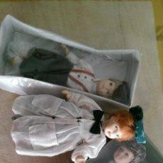 Muñecas Porcelana: MUÑECAS CUERPO COMPLETO EN PORCELANA , COLECCION 3 UNIDADES. NUEVOS. Lote 50135578
