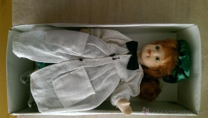 Muñecas Porcelana: MUÑECAS CUERPO COMPLETO EN PORCELANA , COLECCION 3 UNIDADES. NUEVOS - Foto 4 - 50135578