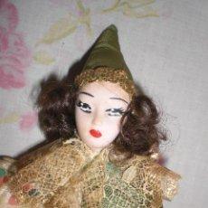 Muñecas Porcelana: ANTIGUO PAYASO DE PORCELANA DE LOS 70/80. Lote 50913835