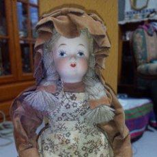 Muñecas Porcelana: MUÑECA DE PORCELANA DE COLECCIÓN ARTICULADA..RUSS COLLECTIBLE PORCELAIN DOLLS. Lote 51122162