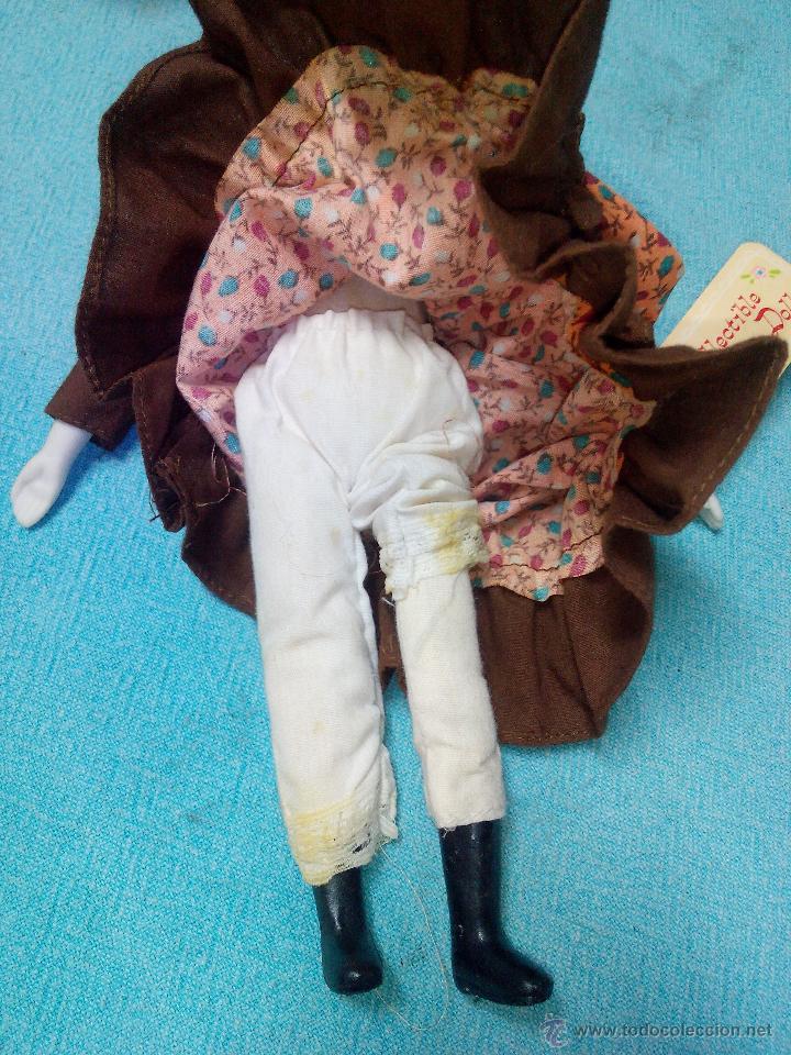 Muñecas Porcelana: MUÑECA abuela DE PORCELANA DE COLECCIÓN ARTICULADA..RUSS COLLECTIBLE PORCELAIN DOLLS - Foto 6 - 51122227