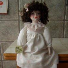 Muñecas Porcelana: ANTIGUA MUÑECA DE PORCELANA FANAS.. Lote 137263521
