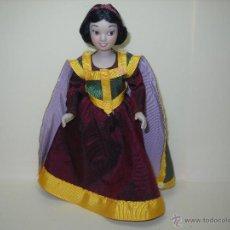 Muñecas Porcelana: MUÑECA PORCELANA DISNEY BLANCANIEVES. Lote 52351468
