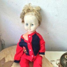 Muñecas Porcelana: UNICA BELGIUM MUÑECA BELGA AÑOS 60 EN VINILO. Lote 52414393