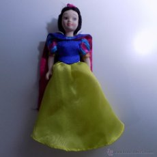 Muñecas Porcelana: MUÑECA BLANCANIEVES EN PORCELANA 16CM ALTO. Lote 52487958