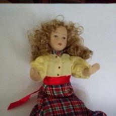Muñecas Porcelana: MUÑECA PORCELANA DE CASA DE MUÑECAS VCTORIAN DOLLS DE COLECCIÓN 16 CM.. Lote 52529463