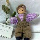 Muñecas Porcelana: PEQUEÑO MUÑECO.. Lote 33770507