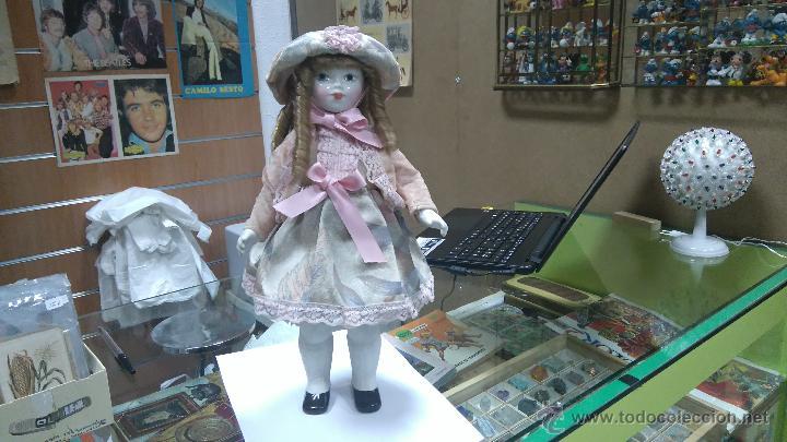 MUÑECA PORCELANA (Juguetes - Muñeca Extranjera Moderna - Porcelana)