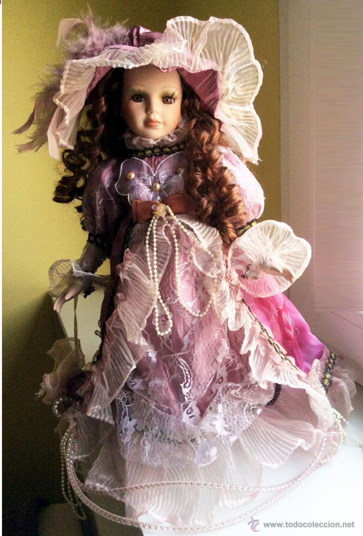 Muñecas Porcelana: De pie y frontal - Foto 3 - 52998484