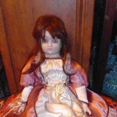 Muñecas Porcelana: ANTIGUA MUÑECA DE PORCELANA .. Lote 53051935