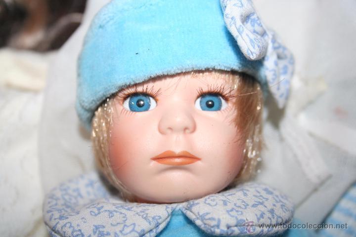Muñecas Porcelana: muñeco bebe porcelana - Foto 2 - 53356739