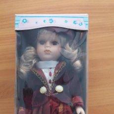 Porzellan-Puppen - Muñeca de porcelana con soporte - 53732743