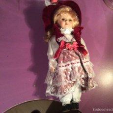 Muñecas Porcelana: MUÑECA PORCELANA DE COLECCIÓN. Lote 54003211