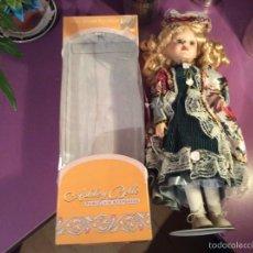 Muñecas Porcelana: MUÑECA NUEVA DE COLECCIÓN 45 CM PORCELANA. Lote 54003242