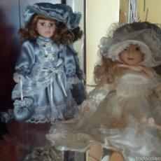 Muñecas Porcelana: LOTE MUÑECAS DE PORCELANA. Lote 54325685