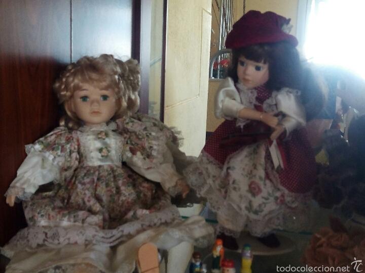 Muñecas Porcelana: Lote muñecas de porcelana - Foto 2 - 54325685
