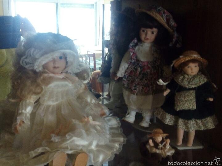 Muñecas Porcelana: Lote muñecas de porcelana - Foto 3 - 54325685