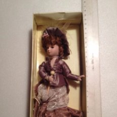 Muñecas Porcelana: MUÑECA PORCELANA EN SU CAJA. Lote 54376330