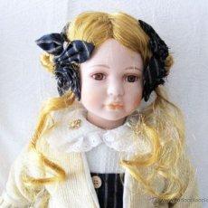 Muñecas Porcelana: MUÑECA ALEMANA DE PORCELANA EDICIÓN LIMITADA. Lote 54565221