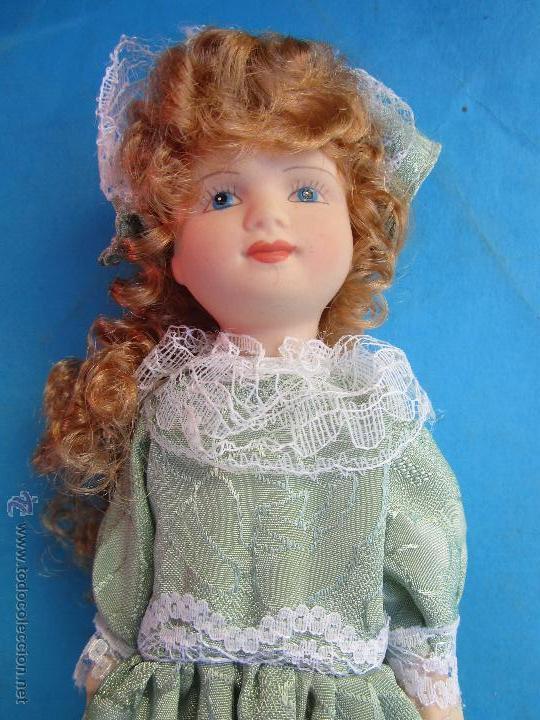 Muñecas Porcelana: muñeca de porcelana sin marcas , esta nueva en su caja años 90 - Foto 3 - 54582713