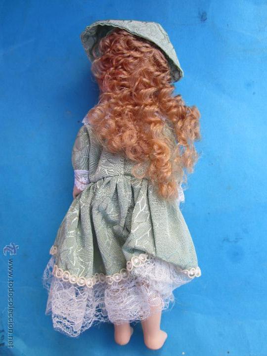 Muñecas Porcelana: muñeca de porcelana sin marcas , esta nueva en su caja años 90 - Foto 4 - 54582713