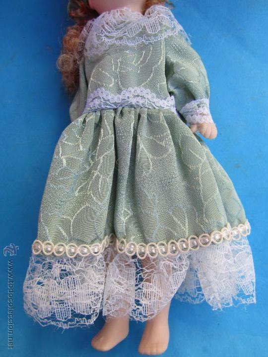 Muñecas Porcelana: muñeca de porcelana sin marcas , esta nueva en su caja años 90 - Foto 5 - 54582713