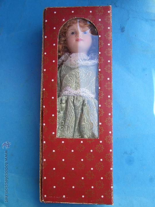 Muñecas Porcelana: muñeca de porcelana sin marcas , esta nueva en su caja años 90 - Foto 6 - 54582713