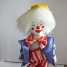 Muñecas Porcelana: PAYASO PORCELANA - PINTADO A MANO - NOSTALGIA MINT - DOLLS COLLECTION - 15 CM. Lote 54589364