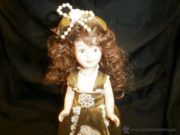 Muñecas Porcelana: REEDICION PEQUEÑA MUÑECA DE PORCELANA CLASICA - Foto 2 - 54625973