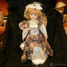 Muñecas Porcelana: REEDICIO MUÑECA DE PORCELANA CLASICA. Lote 54626609
